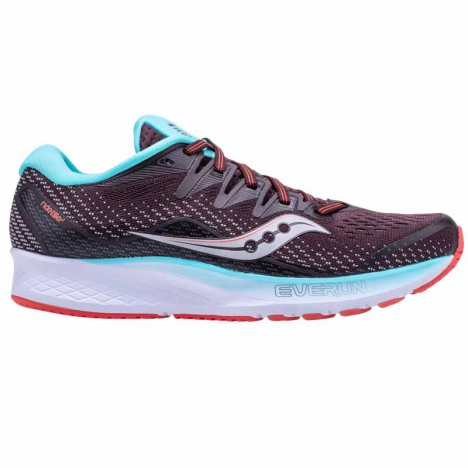 Saucony Ride Iso brown/coral für Damen