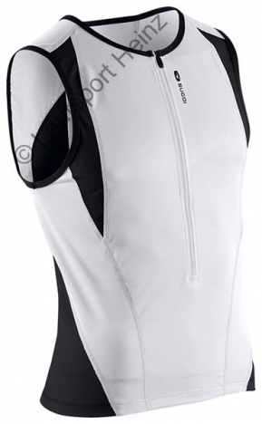 Sugoi Turbo Tri Tank white/black for men